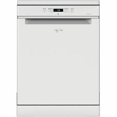 View Details Whirlpool WFC3C24PUK Full Size White Freestanding 14 Place Settings Dishwasher • 368.00£