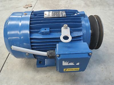 3KW 3 Phase Foot Mount Electric Motor • 150£