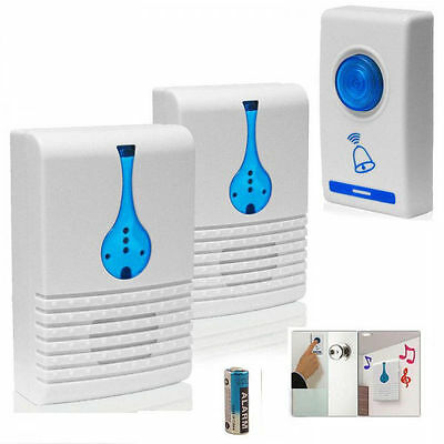 Wireless Door Bell 32 Chime Home Cordless Portable 100m Range Digital Doorbell • 8.99£