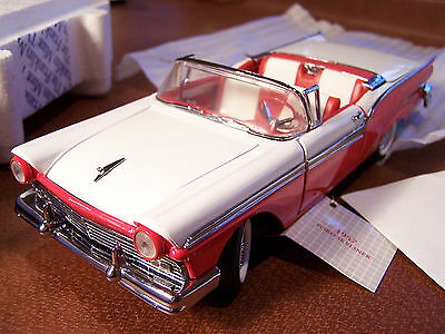 $99.99 • Buy Mint Franklin Mint 1957 Ford Fairlane Retractable Top Shell & Some Paperwork