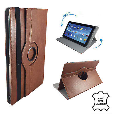 "$ CDN33.38 • Buy Leder Tablet Case NVIDIA Shield K1 Schutzhülle Etui Leder Braun 7"" 360"