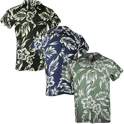 £9.97 • Buy Hawaiian Shirt Party Fancy Dress S Xl Xxl Beach Floral Shirt Stag Holiday Large