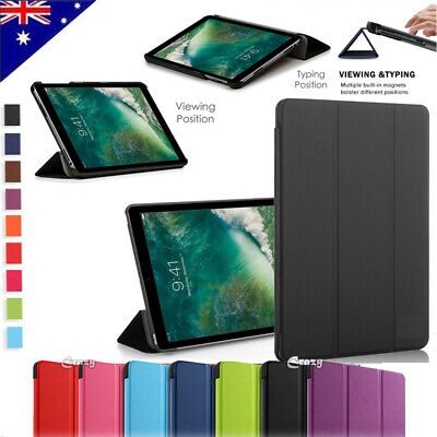 AU13.99 • Buy Apple IPad 5th 6th 7 Pro Air 2 10.5 2019 Case Leather Flip Magnetic Smart Cover