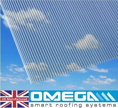 4mm Polycarbonate Sheet, 5 Of 2ft X 4ft, 610mm X 1220mm | Greenhouse Replacement • 31.75£