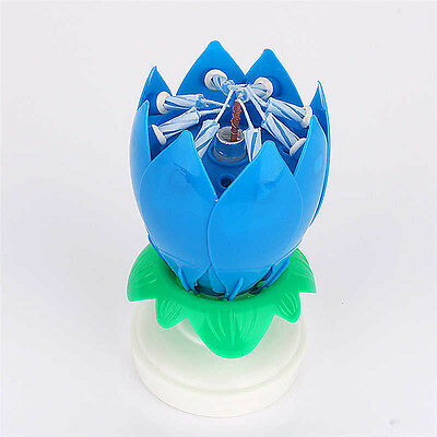 $ CDN21.14 • Buy Magic Lotus Flower Candle Birthday Music Spin Party Candle 14 Small Cnadles Gift
