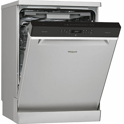 View Details Whirlpool WFO3P33DLXUK 60cm S/S Freestanding 14 Place Dishwasher 2 Year Warranty • 569.00£