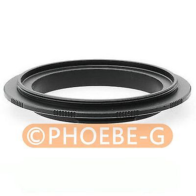 52mm Macro Reverse Adapter Ring For Olympus E510 E420 E620 E5 • 2.99£