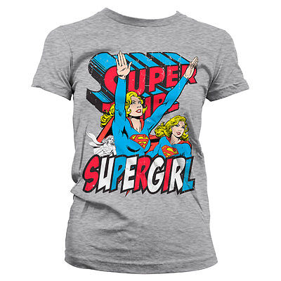 £17.75 • Buy Officially Licensed Supergirl Women's T-Shirt S-XXL Sizes