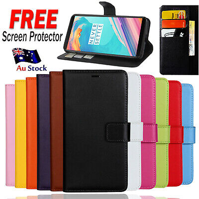 AU7.95 • Buy For OnePlus 5 5T Leather Flip Wallet Card Pocket Case Cover For One Plus 1+ 5 5T