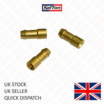 4.7mm Brass Bullet Connectors Lucas Style - Classic Car & Bike • 3.95£