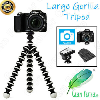 AU25.95 • Buy LARGE Flexible Gorilla Tripod | The Original Camera Kit | Canon Nikon Sony DSLR