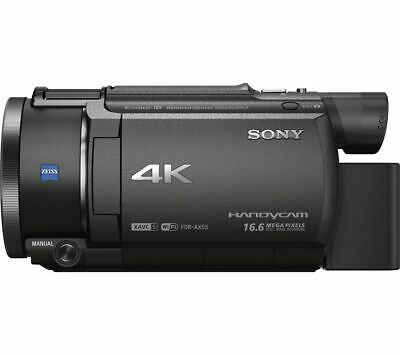 SONY FDR-AX53 4K Ultra HD Camcorder - Black - Currys • 699£
