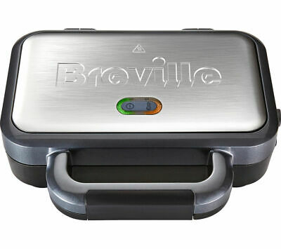 £22.99 • Buy BREVILLE VST041 Deep Fill Sandwich Toaster - Graphite & Stainless Steel - Currys