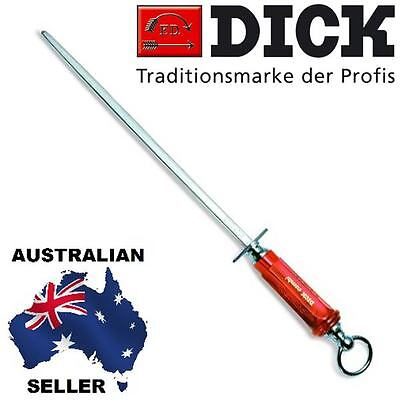 AU195 • Buy F DICK Quality German Made Dickron Square Combi Sharpening Steel 12