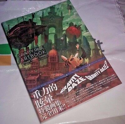 AU86.27 • Buy GRAVITY DAZE Gravity Rush Series Art Book Official Free Ship New Collector