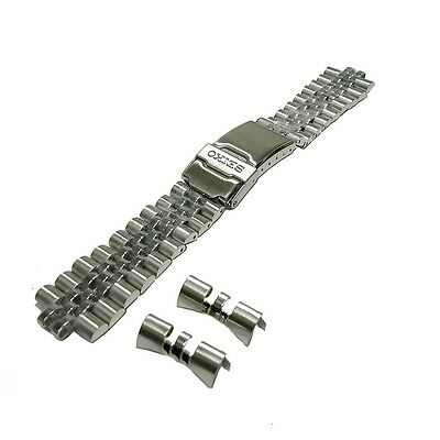 $ CDN64.88 • Buy Genuine Original 22 Mm Seiko Silver Stainless Steel Band 44G1JZ For Seiko SKX007