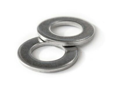 $4.59 • Buy Stainless Steel Flat Washer DIN 125A  M2 M2.5 M3 M4 M5 M6 M8 M10 M12 M14 M16 M20