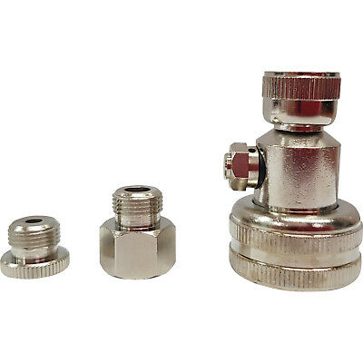 AU29.95 • Buy Industrial Grade Tractor Tyre Water Adaptor - Push Button Bleed - Made In USA