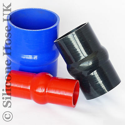 £11.68 • Buy Silicone Hump Hoses - Bellows Coupler Joiner Silicon Rubber Radiator Hose Pipe