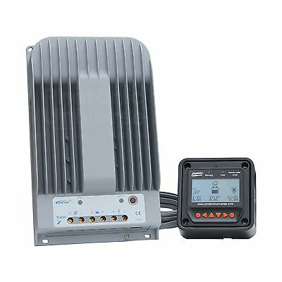 High Efficiency 40A MPPT Solar Charge Controller With LCD Monitor For Up To 150V • 199.99£