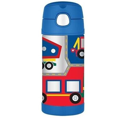 AU16 • Buy THERMOS Drink Bottle Construction AUTHENTIC Kids Lunch Box