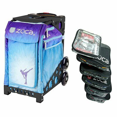 £186.22 • Buy Zuca ICE DREAMZ Sport Insert Bag With Black NON-Flashing Frame & Pouch Set