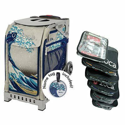 £178.95 • Buy Zuca GREAT WAVE Sport Insert Bag With Gray Frame And Packing Pouch Set