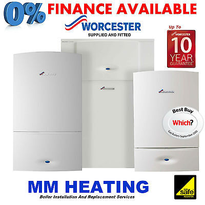 Worcester Greenstar 34CDi Combi Boiler Replacement Supplied & Fitted  • 1,899£