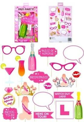 £2.59 • Buy HEN NIGHT DO PARTY ACCESSORIES Sash, Balloons, Head Boppers, Photo Props Ect