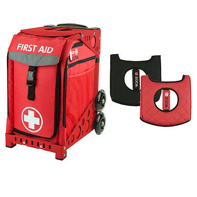 £173.67 • Buy Zuca First Aid Sport Insert Bag And Red Frame, With Gift Seat Cushion