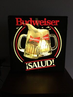 $ CDN63.52 • Buy Vintage Budweiser Beer Lighted Sign
