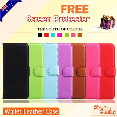 AU7.95 • Buy Wallet Leather Flip Magnetic Case For Nokia 2.1 6.1 Nokia 7.1 7 Plus 8.1 Cover