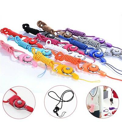 £1.99 • Buy Neck Lanyard Camera Strap Phone Mp3 Id Cell Holder Card Usb Mobile Keys