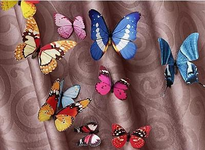 £3.80 • Buy NEW 12pcs MAG 3D Butterfly Decal Wall Stickers Home DIY Art Decor Children Room