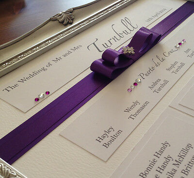 £45 • Buy 16 X20  Framed Table Plan, Created To Suit Your Theme