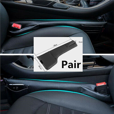 $ CDN38.99 • Buy 2pc Left&Right Car Console Storage Bag Anti-drop Phone Ticket Card Catch Catcher