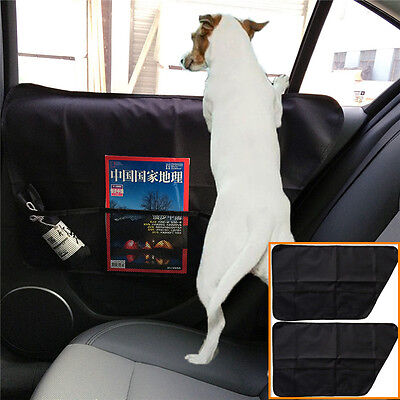 $ CDN35.11 • Buy 2pc Pet Dog Seat Cover Car Front&Rear Door Panel Protector Scratch Guard For Dog