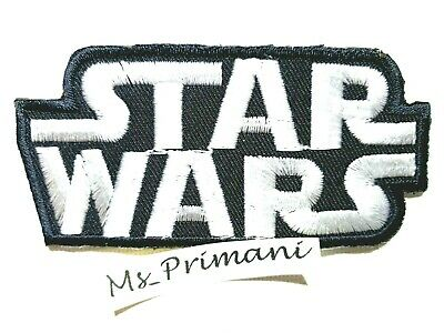 STAR WARS RETRO Embroidered Iron-on/ Sew-on Patch/ Badge/Logo • 1.75£