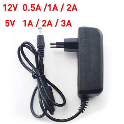 $ CDN4.14 • Buy 12V 5V 0.5A 1A 2A DC AC Power Supply Adapter Switch For LED Strip Light CCTV US