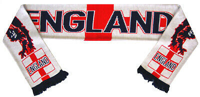 England Lions Football Scarf - Made In The UK • 7.99£