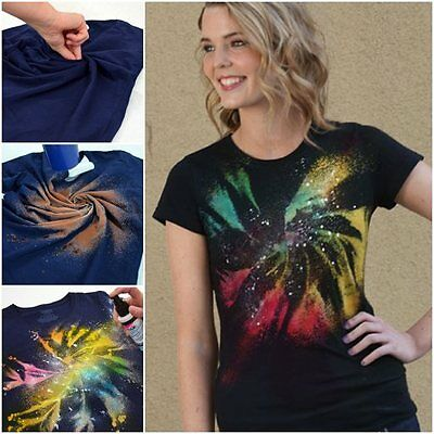 Fabric Spray Paint Tulip Permanent Art Craft T-Shirt Textiles Pack Of 4 7 9 Pack • 6.89£