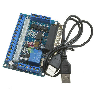 $4.99 • Buy CNC MACH3 5 Axis Interface Breakout Board For Stepper Motor Driver CNC Mill