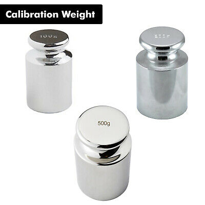 £4.49 • Buy 100g 200g & 500g Precision Balance Calibration Weight For Digital Pocket Scale