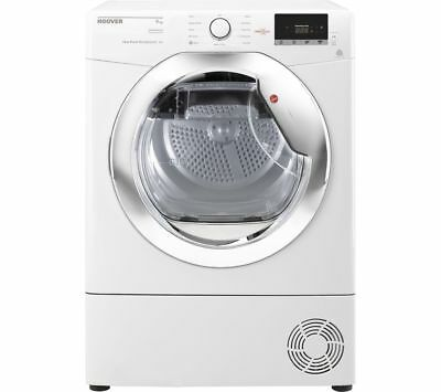 View Details HOOVER Dynamic Next DX H9A2DCE NFC 9 Kg Heat Pump Tumble Dryer - White - Currys • 399.00£