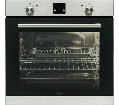 View Details LOGIK LBLFANX17 Electric Oven - Inox & Black - Currys • 149.00£