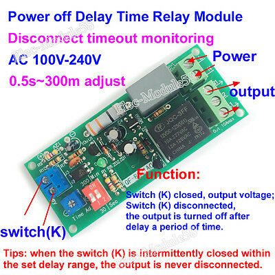 time delay off switch