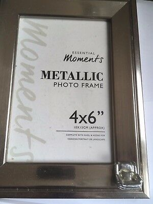 Sofa / Chair TG265 Pewter On PICTURE PHOTO FRAME SILVER 6X4 Hang/Stand • 18.99£
