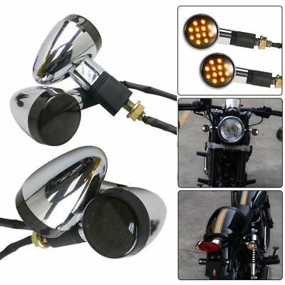 AU31.96 • Buy 4x Turn Signals Indicator Lights For Suzuki Boulevard C109R C50 C90 S 40 50 83