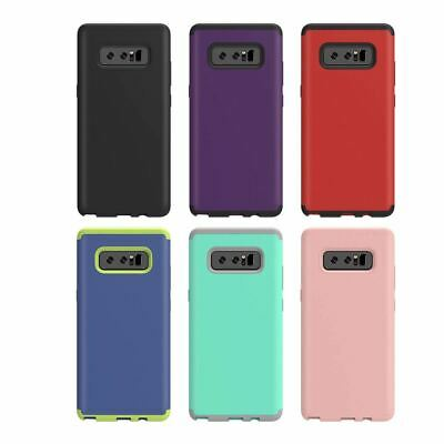 $ CDN11.47 • Buy For Samsung Galaxy Note 8 Shockproof Inner Silicone + PC Hybrid Hard Case Cover