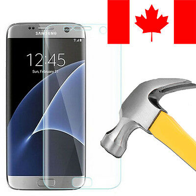 $ CDN7.99 • Buy Full Tempered Glass Screen Protector For Samsung Galaxy S7